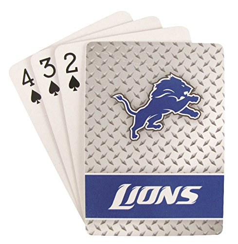 NFL Detroit Lions Playing Cards