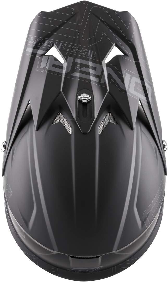 L ONeal Kids Helm 3Series Flat Schwarz Gr