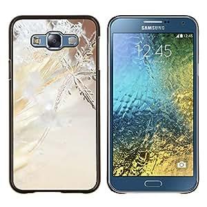 Stuss Case / Funda Carcasa protectora - Flocon de neige Printemps Hiver Sun Neige Glace - Samsung Galaxy E7 E700