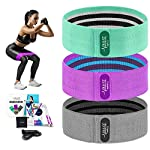 NATARIFITNESS..COM  51Fq1FopfjL._SS150_ Pulse Athletics Resistance Bands for Legs and Butt, 3 Nonslip Booty Bands, Exercise Bands, Glute, Thigh and Hip Training…