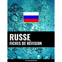 Fiches de révision en russe: 800 fiches de révision essentielles russe-français et français-russe (French Edition)