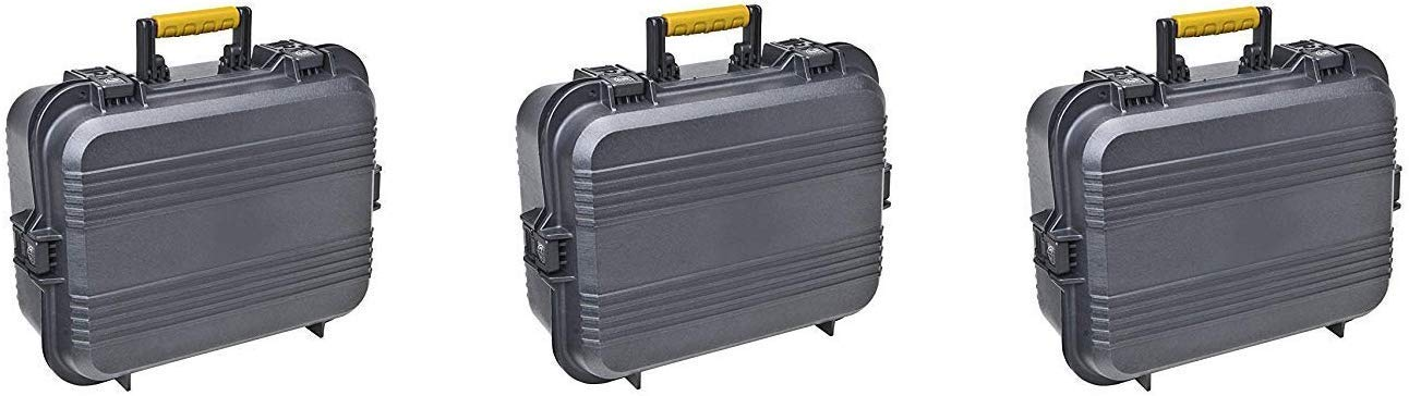 Plano 108031 AW XL Pistol/Accessories Case Black (Pack of 3) by Plano