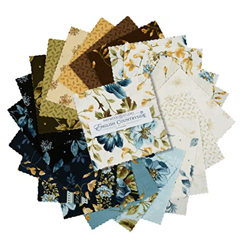 Maywood Studio 5'' Charms English Countryside Precut 42 Piece Fabric, ()