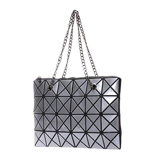 Dames De Main Bag Sac Main Coréenne Silver à à Sac à Couture Lingge Version Diagonale à CY Sac Sac Bandoulière Mode Main Pliable La wa7dqq