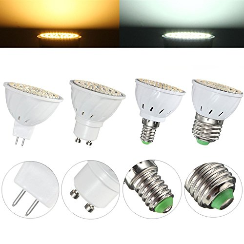 Mr16 Led Bulbs - E27 E14 Gu10 Mr16 4w 80 Smd 3528 Non-Dimmable Led Warm White White Spot Light Lamp Bulb Ac110/220v - Mr11 3000k Gu4 0 Bulbs Spot Bulb - Led 12v - 1PCs