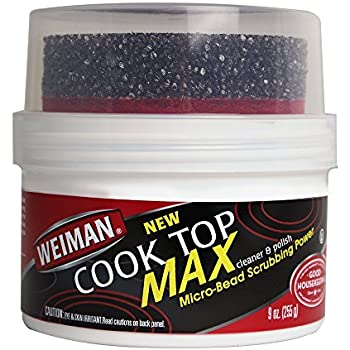 Amazon.com: Weiman Glass Cooktop Heavy Duty Cleaner and ...