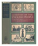 img - for A history of the English people / by R. J. Mitchell and M. D. R. Leys book / textbook / text book