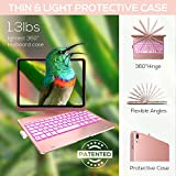 iPad Air 4 Case with Keyboard, 10 Color