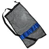 "Scuba Choice Scuba Diving Drawstring Mesh Bag with Shoulder Strap, 25"" x 13"""