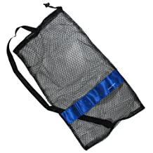 "Scuba Choice Scuba Diving Drawstring Mesh Bag with Shoulder Strap, 25"" x 13"""