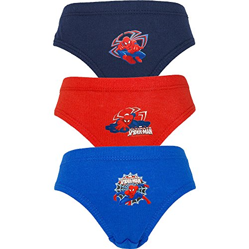 Boy's Ultimate Spider-Man Homecoming Hipster Briefs Pants Set (3 Pair Pack) (4-5 Years)