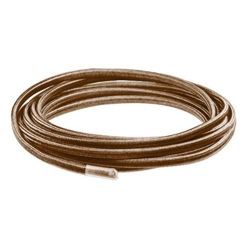 10 ft. - Rayon Antique Wire - Brown - 18/2 SPT-1 - 2 Wire Parallel Cord (Rayon Wire Antique)