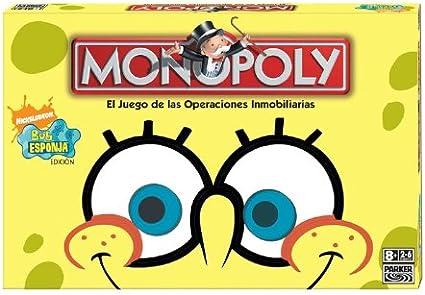 Hasbro Monopoly Bob Esponja - Juego de Mesa: Amazon.es: Juguetes y juegos