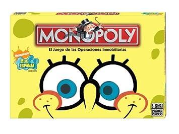 Hasbro Monopoly Bob Esponja  Juego de mesa Amazones Juguetes y