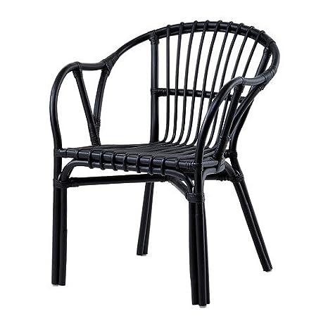 IKEA HOLMSEL - Butaca, negro: Amazon.es: Hogar