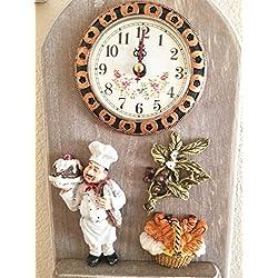 Chef Wall Clock Hook Wall 11