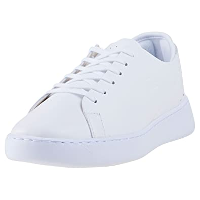 5f8c20782 Lacoste Eyyla 317 Womens Trainers White White - 8 UK  Amazon.co.uk ...
