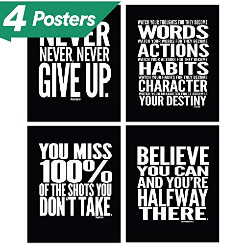 Cheap  Motivational Quote Workout Gym Posters - 8