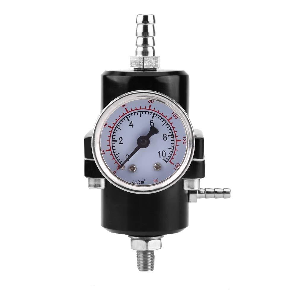 Jauge de Pression de Carburant R/égulateur de Pression Universel R/égulateur de Pression de Carburant