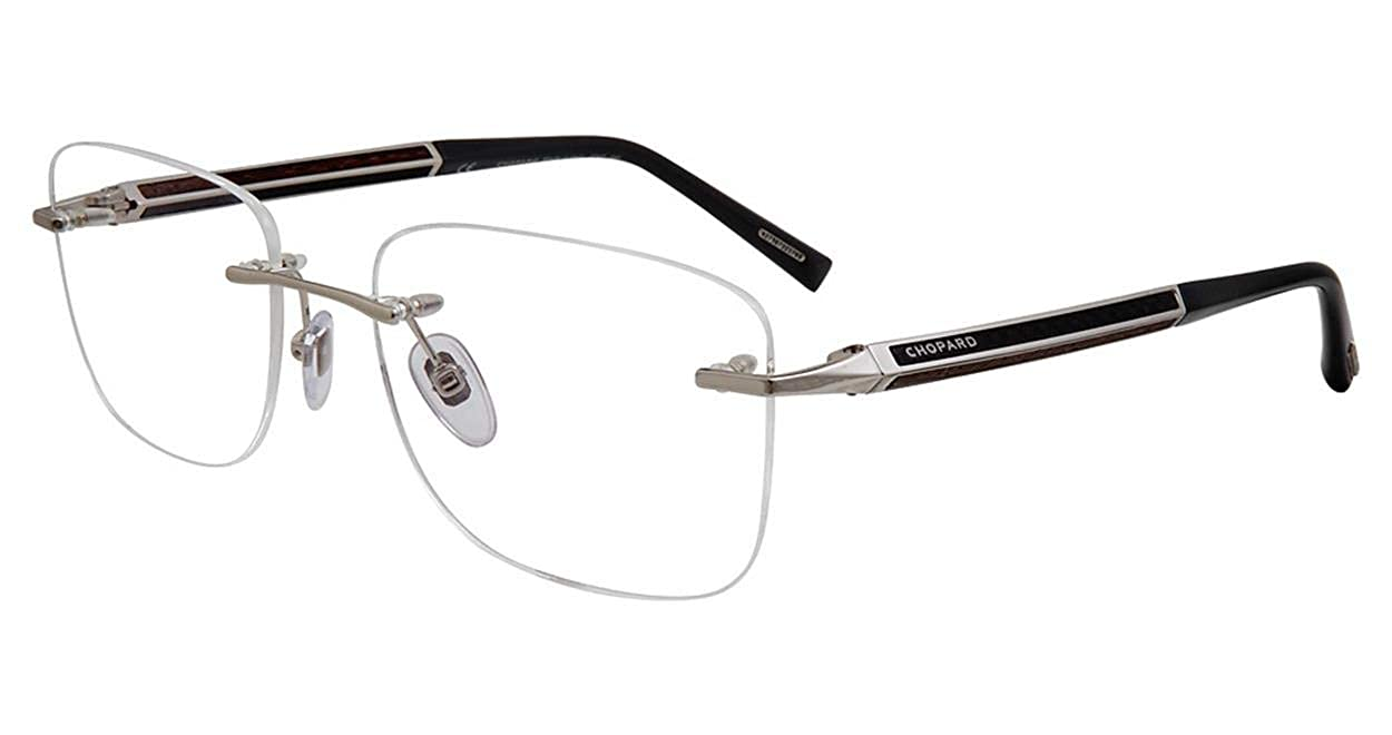 b95043811d Eyeglasses Chopard VCHC 74 Silver 0579 at Amazon Men s Clothing store