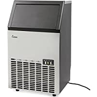 Ensue Commercial Ice Maker Stainless Steel, Free Standing Ice Machine