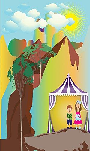 El Salto Ángel, una cascada dentro de una selva mágica:  Turo y Tasia con la abuelita Tatiana  (cuentos de aventura con...