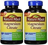 Cheap Nature Made Magnesium Citrate Softgels, 120 Count (Pack of 2)