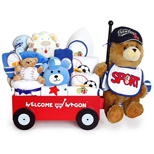 Super Deluxe Welcome Wagon Baby Boy Gift