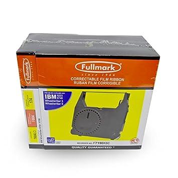 Fullmark - Cinta para máquina de escribir IBM (3 unidades, incluye 1 cinta para levantar ruedas): Amazon.es: Electrónica
