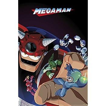 Amazon.com: Trends International Wall Poster Mega Man Battle ...