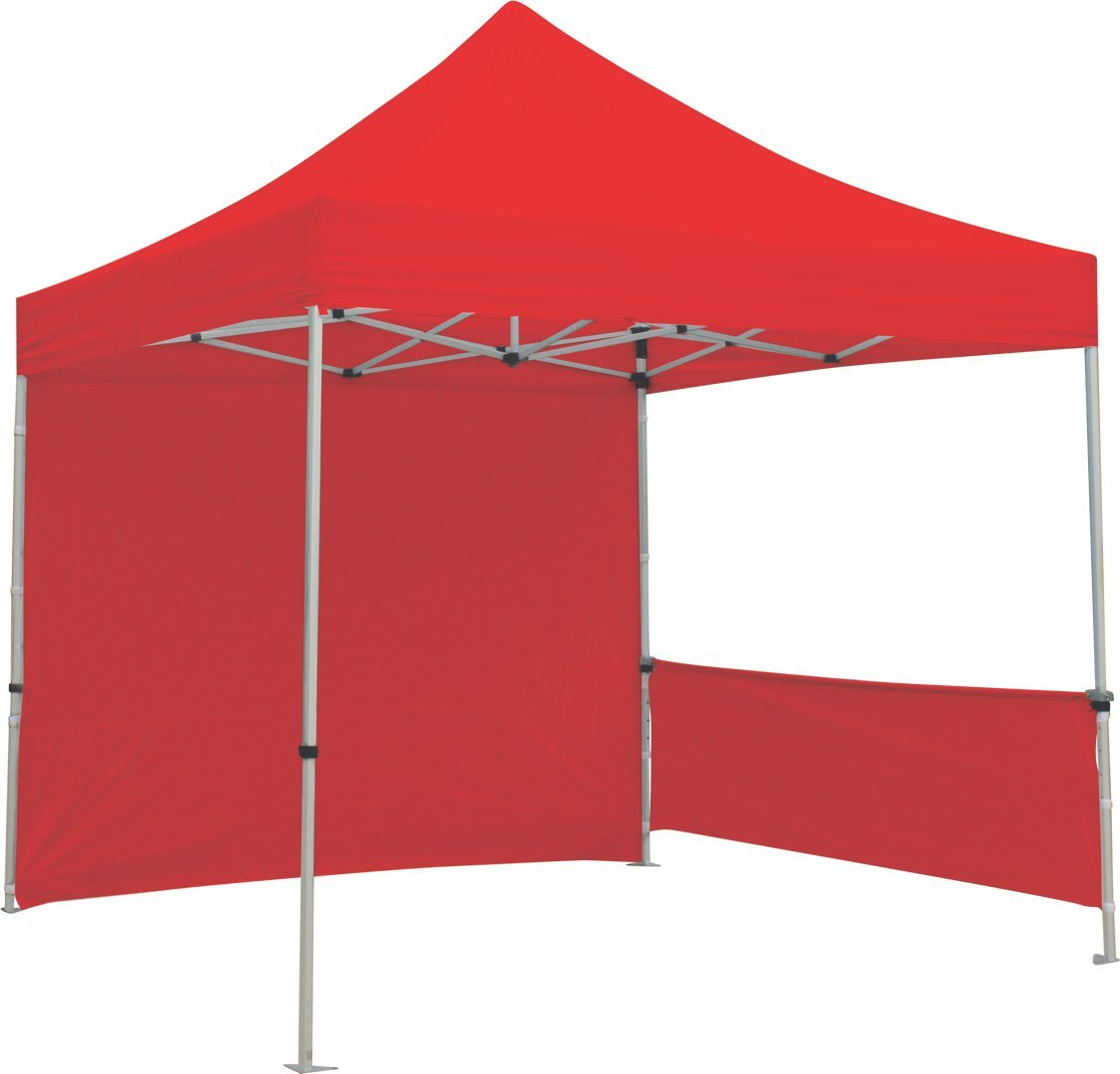 Exhibitor's Handbook TNT-3MX3M-HLF-K-BLU Zoom Popup Tent Half Wall Kit Hardware Only, 10', Blue 10'