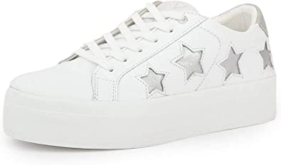guess leather sneakers