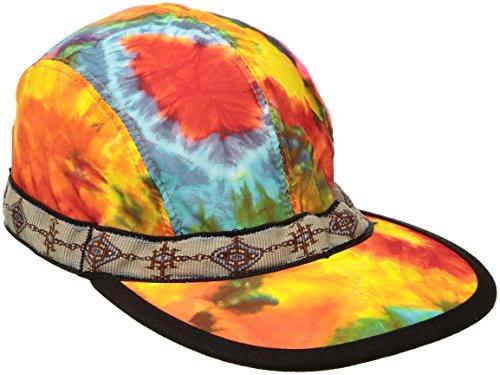 KAVU Synthetic Strap Cap Fishing Hat, Tie Dye, Medium