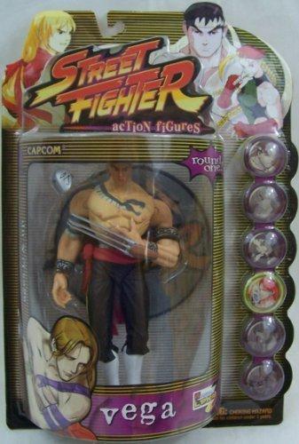Street Fighter Action Figure Round One Vega