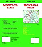 Montana State Road Map