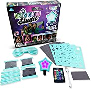 LetsGlow Studio - DIY Arts and Crafts Video Creator Kit, Includes 16 Color LED Light, Remote Control and Acces