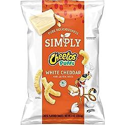 Simply Cheetos Puffs White Cheddar Chees...