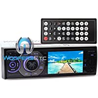 Soundstream VR-345XB In-Dash 1-DIN 3.4 LCD Screen DVD Stereo Receiver Sirius XM Ready
