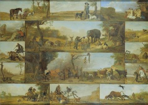 Oil Painting 'Punishment Of A Hunter,1647 By Paulus Potter', 8 x 11 inch / 20 x 29 cm , on High Definition HD canvas prints is for Gifts And Gym, - Noten Biography Van Dries
