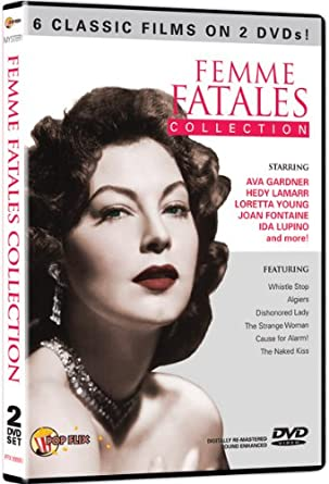 d583d118624e71 Amazon.com: Femme Fatales Collection: Ava Gardner, George Raft, Hedy ...