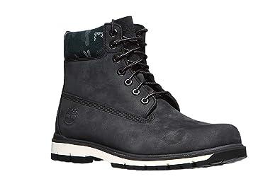 28eaede0c7431 Timberland Mens Radford 6 Waterproof Nubuck Dark Grey Boots 7.5 US