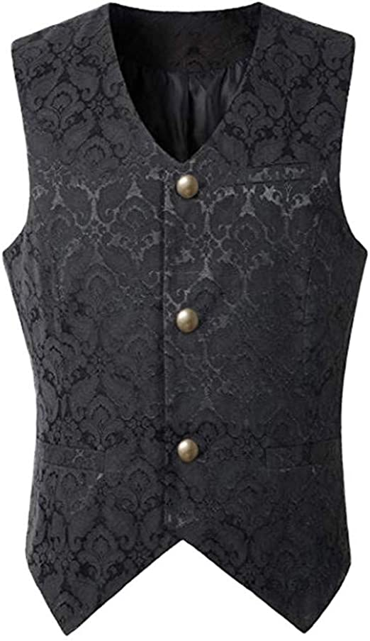 Small Paisley Jaquard Brocade Fabric Jackets Bridal Eveningwear waistcoats