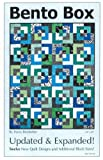 Bento Box Updated and Expanded Quilt Pattern, Fat Quarter Friendly 12 Top Variation Designs