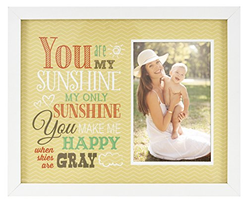 MCS Hello Sunshine Baby Frame with 4x6 Photo Opening by MCS