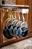 Single Glideware Cookware Organizer with 7 Hooks