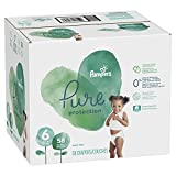 Pampers Pure Disposable Baby Diapers, Hypoallergenic and Fragrance Free Protection, Size 6, 58 Count, Giant