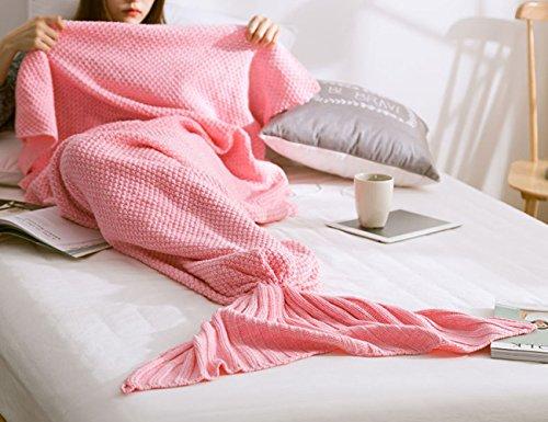 Shark Costume Baby Bunting - Fanova Girls Boys Lovely Knit Mermaid Tail Sleeping Blanket Weave Soogan For Adults