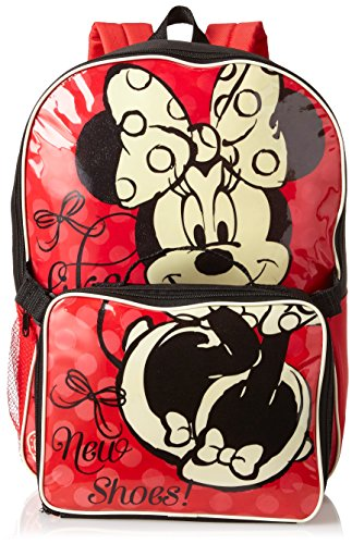 Disney Little Girls'  Minnie Backpack with Lunch