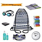 Drawstring Bag, Rough Collie Dog Travel Gym Backpack With Zipper Coin Purse 8