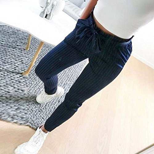 Tunnelzug De Pantalons Crayon Pantalon Fit Unicolor Taille Printemps Blanc Élégant Vêtements Haute Femmes Automne Slim Longues Base Mode R1qwOPcHT
